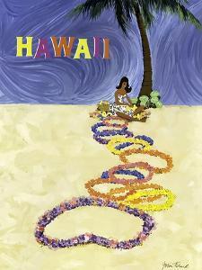 Hawaii-Lei On The Sand by John Fernie
