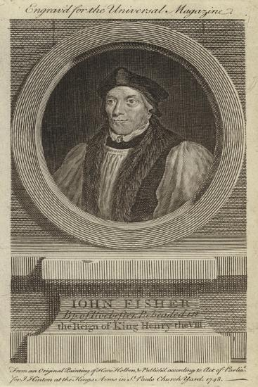 John Fisher, Bishop of Rochester, Beheaded in the Reign of King Henry VIII-Hans Holbein the Younger-Giclee Print