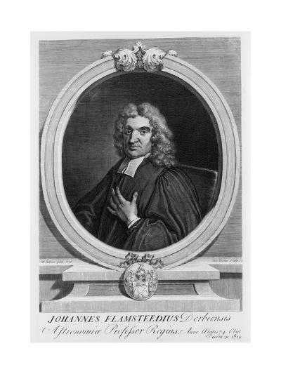 John Flamsteed, Astronomer, 1712-George Vertue-Giclee Print