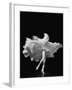"""Actress Lucille Ball Dancing in Scene from the Film """"The Big Street"""" by John Florea"""