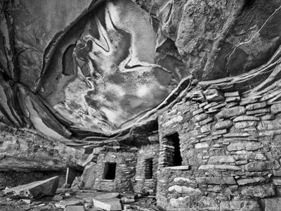 Anasazi Granary, Cedar Mesa, Utah, USA by John Ford