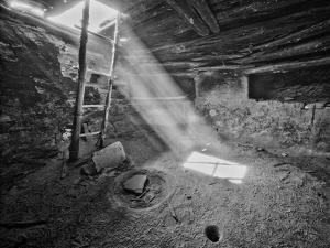 Ancient Kiva On, Cedar Mesa, Utah, USA by John Ford