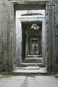 Asia Cambodia, Angkor Wat Hall by John Ford