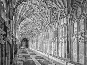 Gloucester Cloister Gloucester England by John Ford