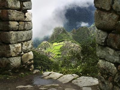 Peru, Machu Picchu, from Inca Trail by John Ford