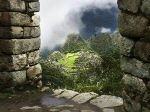 Peru, Machu Picchu, from Inca Trail by John Ford