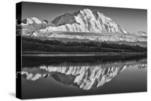 USA, Alaska, Denali, Mt. Mckinley from Wonder Lake by John Ford