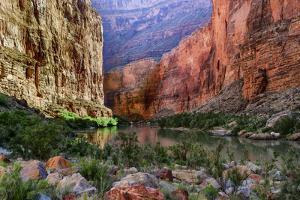 USA, Arizona, Grand Canyon, Colorado River Float Trip Whitmore Creek by John Ford