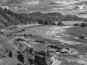 USA, Oregon, Coast Canon Beach by John Ford