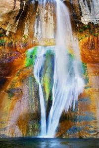 USA, Utah, Lower Calf Creek Falls by John Ford