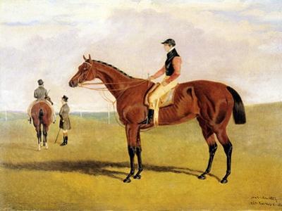 'Matilda' with Robinson, 1827 by John Frederick Herring Jnr