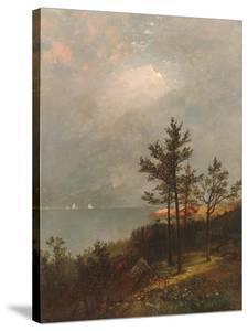 Gathering Storm on Long Island Sound, 1872 by John Frederick Kensett
