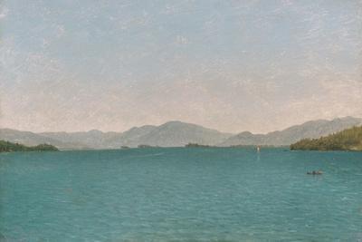 Lake George, Free Study, 1872