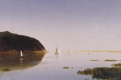 Shrewsbury River, New Jersey, 1859 by John Frederick Kensett