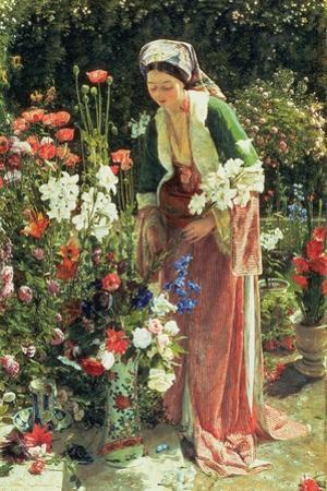 In the Bey's Garden, 1865
