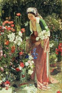In the Bey's Garden, 1865 by John Frederick Lewis