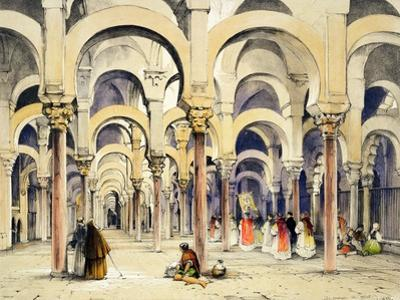"Mosque at Cordoba, from ""Sketches of Spain"""