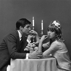 A Couple Dining, 1960s by John French