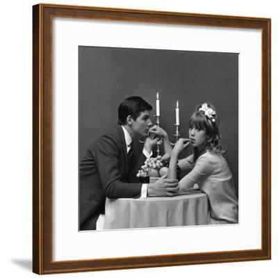 A Couple Dining, 1960s