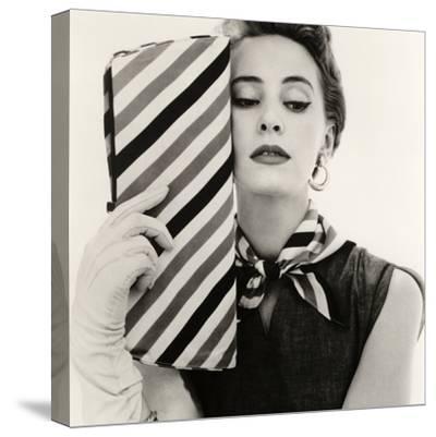 Barbara Miura with Madame Crystal Handbag and Neck Tie, 1953