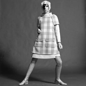 Checked Coat, 1960s by John French
