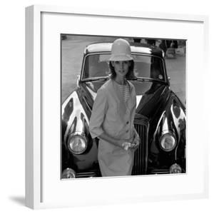 Model and Car, 1960s by John French