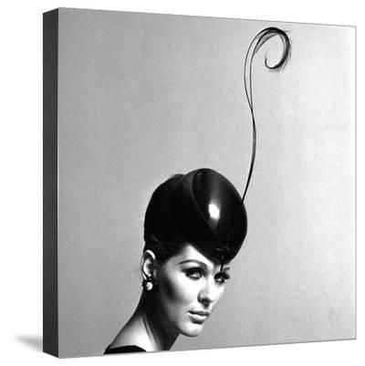 Pillbox Hat with Feather, 1960s