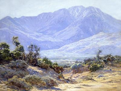 Mt. San Jacinto Near Palm Springs by John Frost