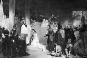 The Baptism of Pocahontas at Jamestown, Virginia, 1613 by John Gadsby Chapman