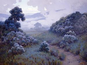 Landscape with Lupines by John Gamble