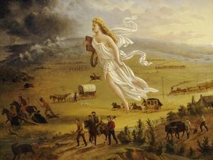 American Progress, 1872 by John Gast