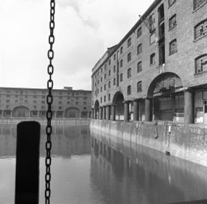 Albert Dock, Liverpool by John Gay