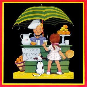 Lemonade Stand - Child Life by John Gee