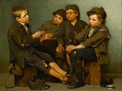 A Tough Story, 1886