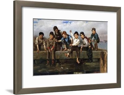 Boys Fishing, 1880