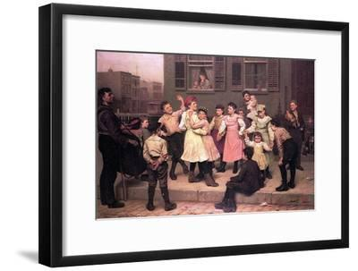 Children Dancing in the Street, 1894