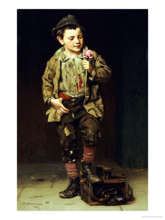 Shoeshine Boy, 1884