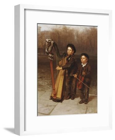The Little Strollers, 1874