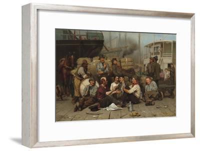 The Longshoremen's Noon, 1879