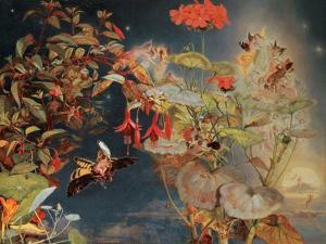Midsummer Fairies, C.1856 by John George Naish
