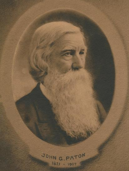 John Gibson Paton (1824-1907), Scottish born Protestant missionary, c1910s-Unknown-Giclee Print