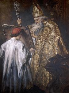 A Bishop, 1889 by John Gilbert