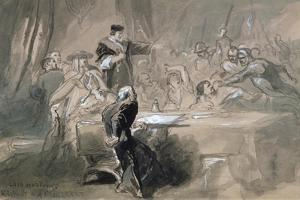 Arrest of Lord Hastings, C1856-1859 by John Gilbert