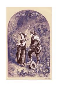 As you Like It by William Shakaespeare by John Gilbert