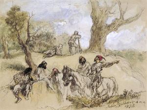 Banditti, 1873 by John Gilbert