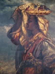 Black Girl with Fruit, 1882 by John Gilbert