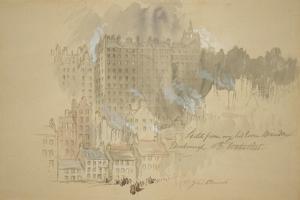 Edinburgh from The by John Gilbert
