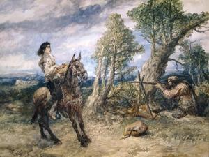 First Adventure of Gil Blas, 1892 by John Gilbert