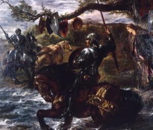 Lancelot Du Lac, 1886 by John Gilbert