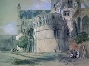 Norwich Cathedral, 1846 by John Gilbert